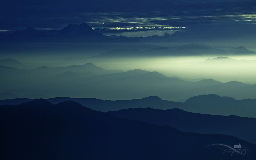 Photograph Into the mountains II by Mohan Duwal on 500px