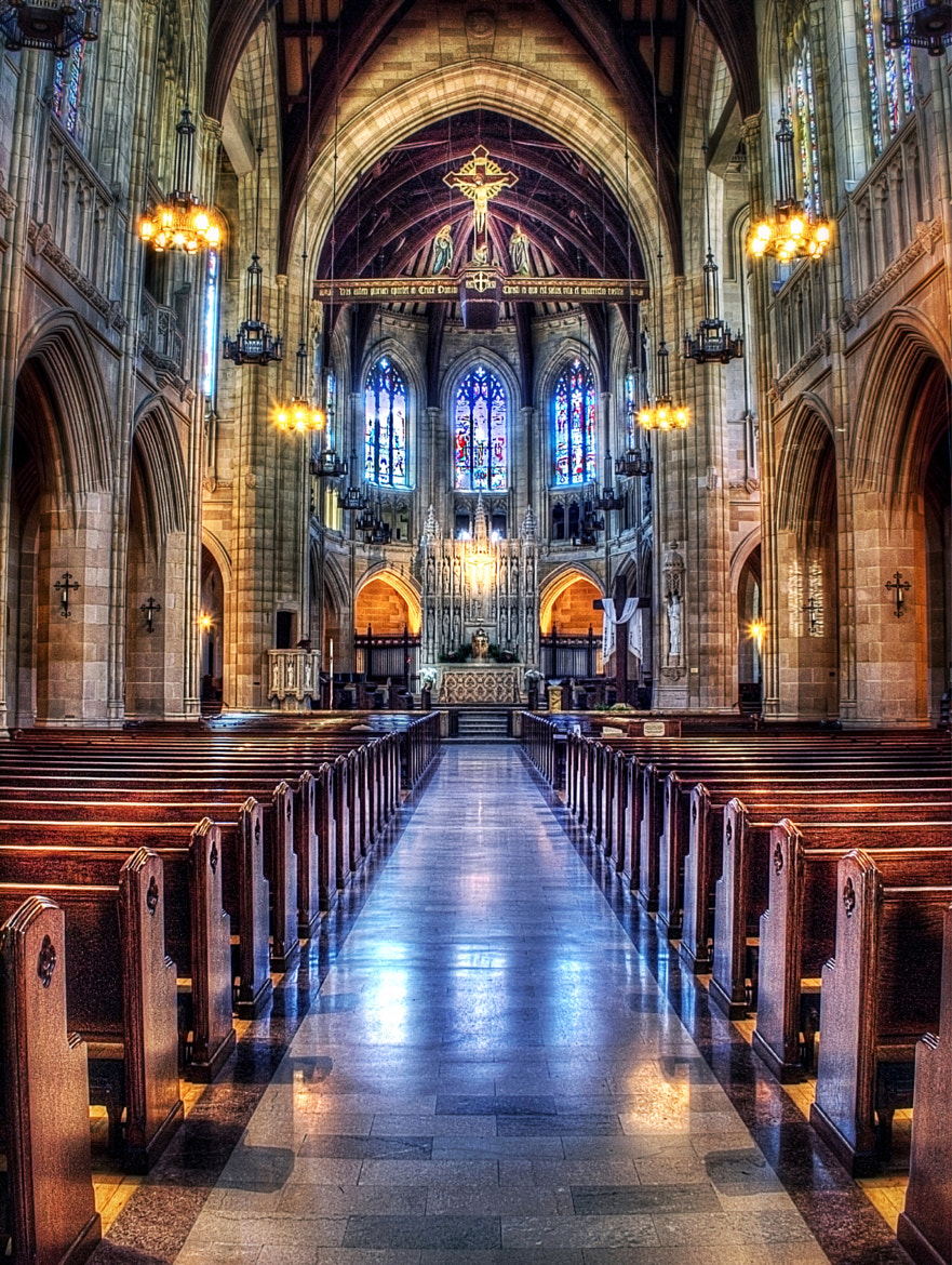 Photograph St. Dominic's  by T. Malachi Dunworth  on 500px