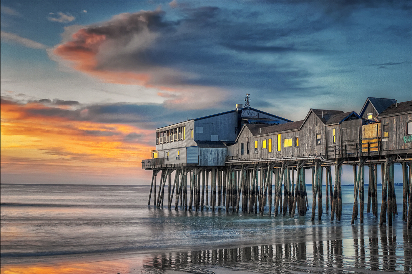 Photograph Dawn, Old Orchard Beach by Alan Borror on 500px