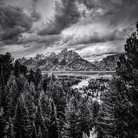 The Tetons by Steve Steinmetz (sjspix)) on 500px.com