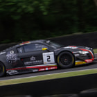 Постер, плакат: No2 Audi driven by Rene Rast and Enzo Ide for Belgian Audi Club Team WRT