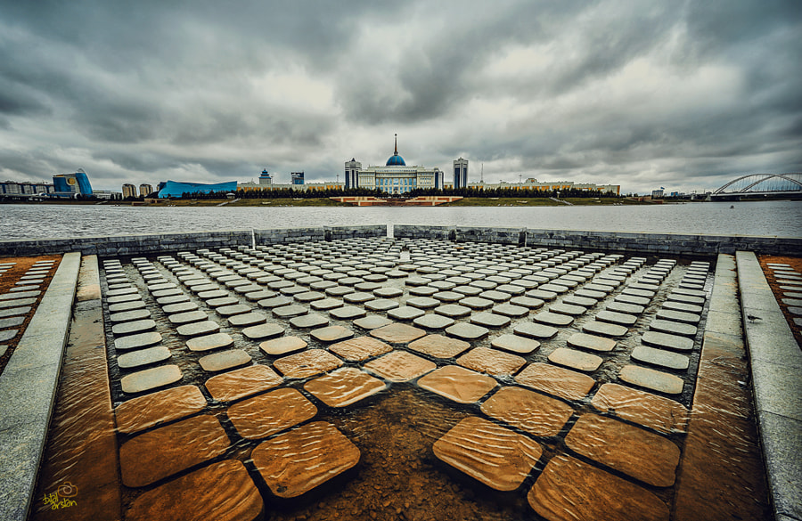 Astana after rain by Bilal Arslan on 500px.com