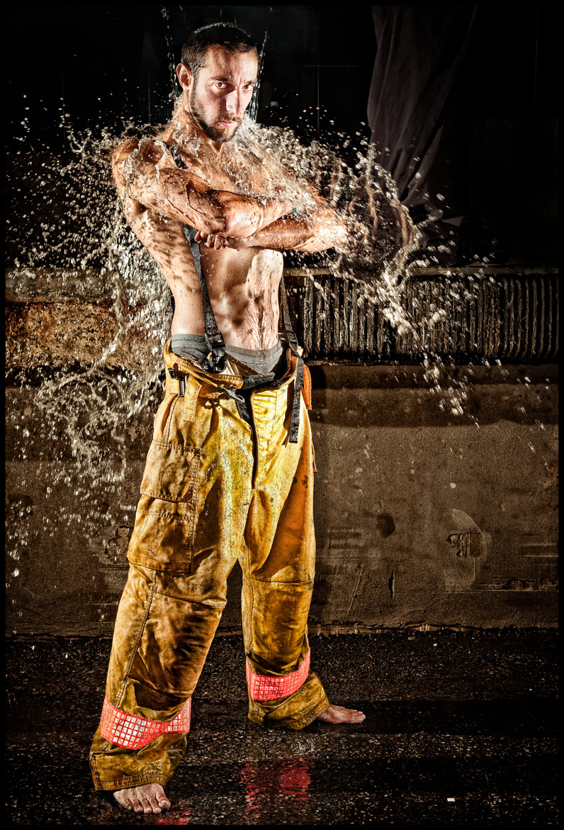 Photograph The fireman by Benjamin Von Wong on 500px