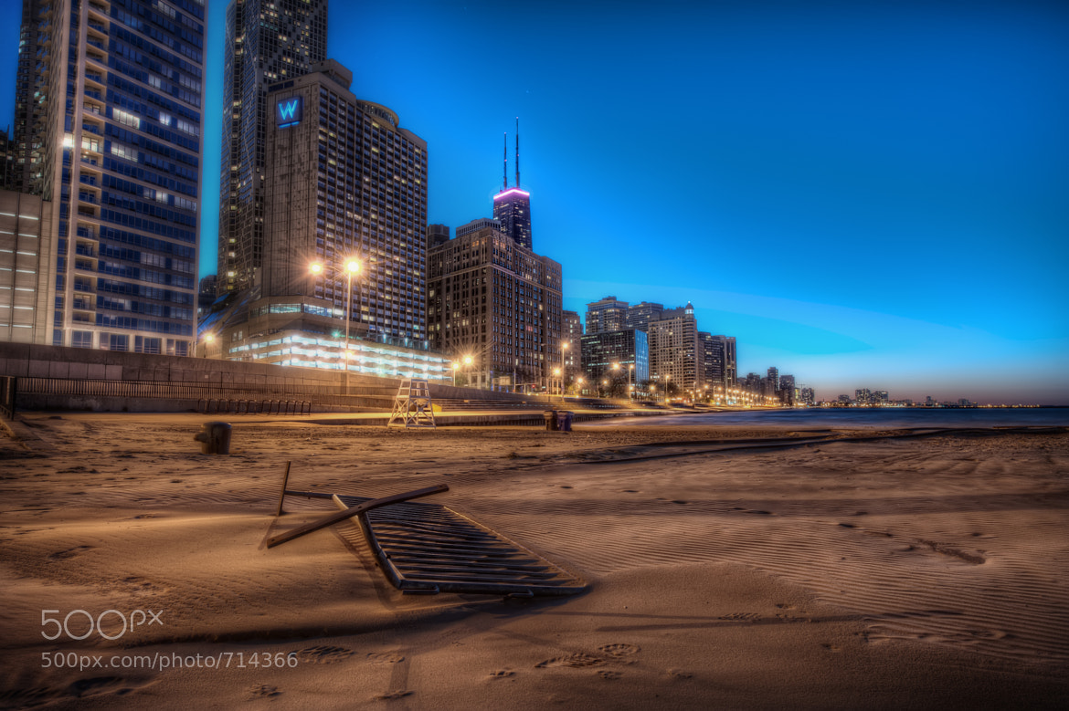 Photograph Blue Hour Beach by Matty Wolin on 500px