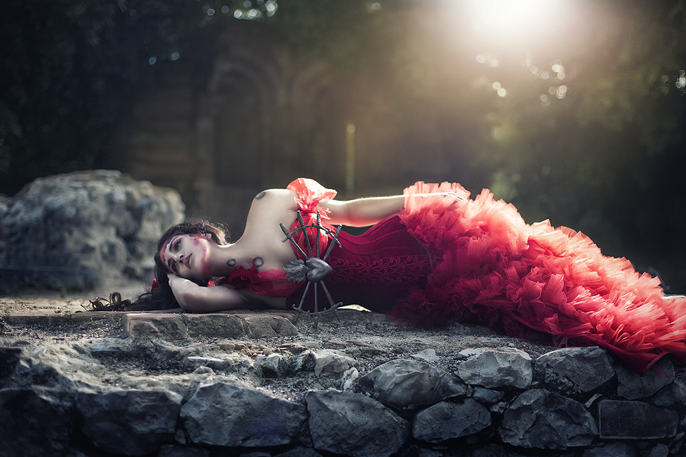 Photograph Queen os hearts by Rebeca  Saray on 500px