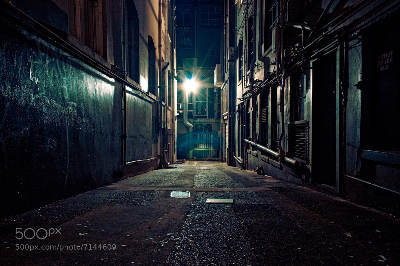 city street corner at night - photo #5