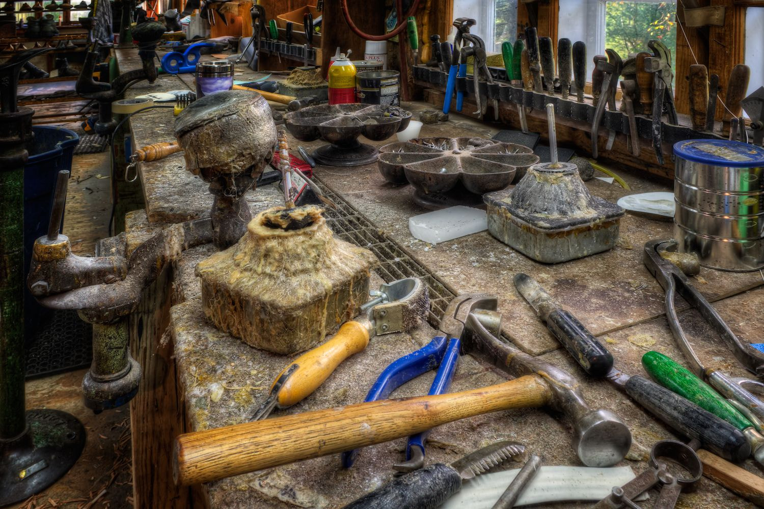 Photograph Limmer's Workbench by Rob Hanson on 500px