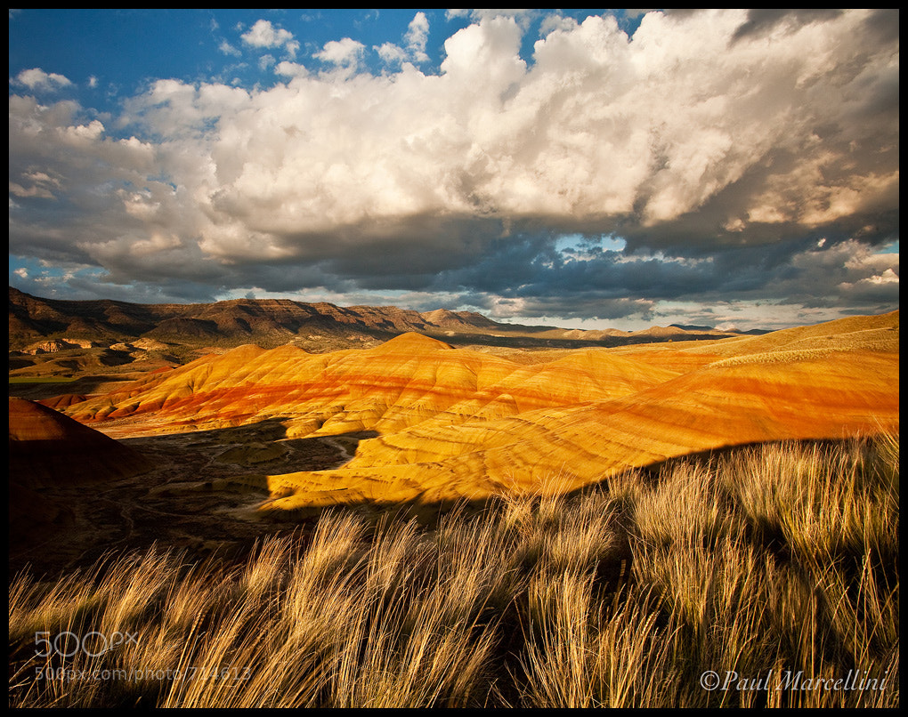 Photograph Drama over Painted Hills by Paul Marcellini on 500px