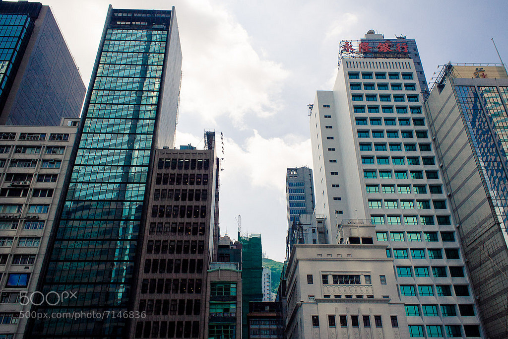 Photograph Skyscrapers  by Stas Kulesh on 500px