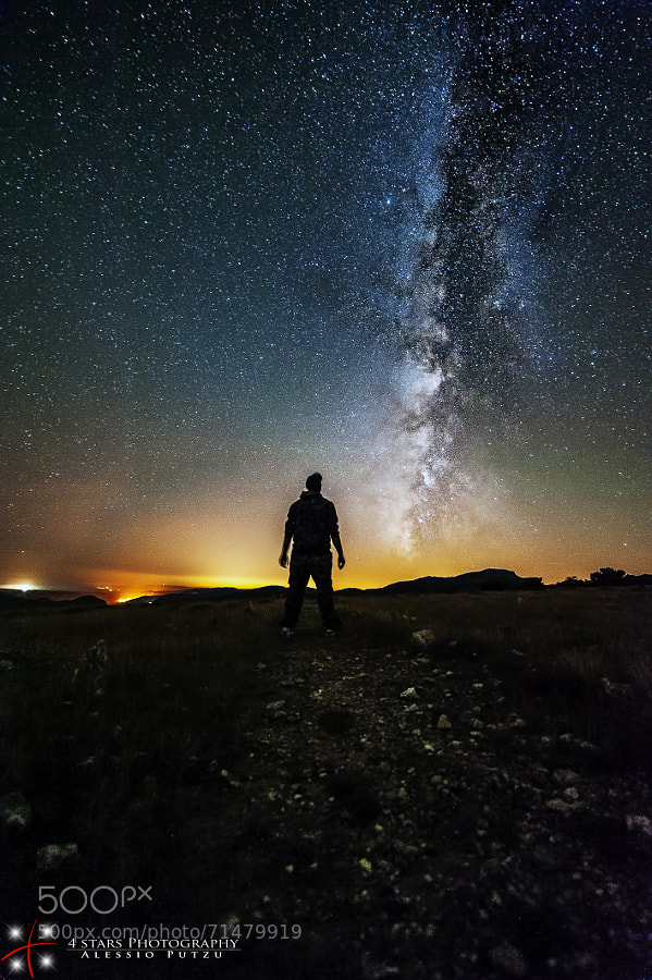 Photograph We Are Made Of Star Stuff by Alessio Putzu on 500px