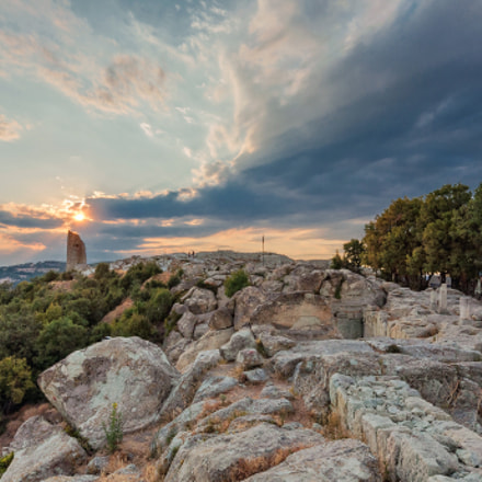 Sunset at Perperikon