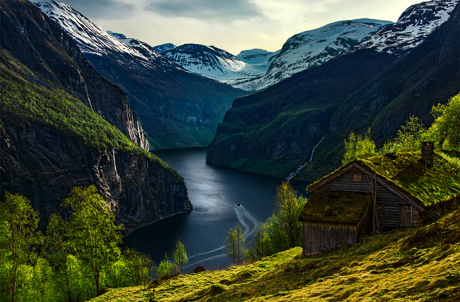 The Green Harbor by Max Rive on 500px.com