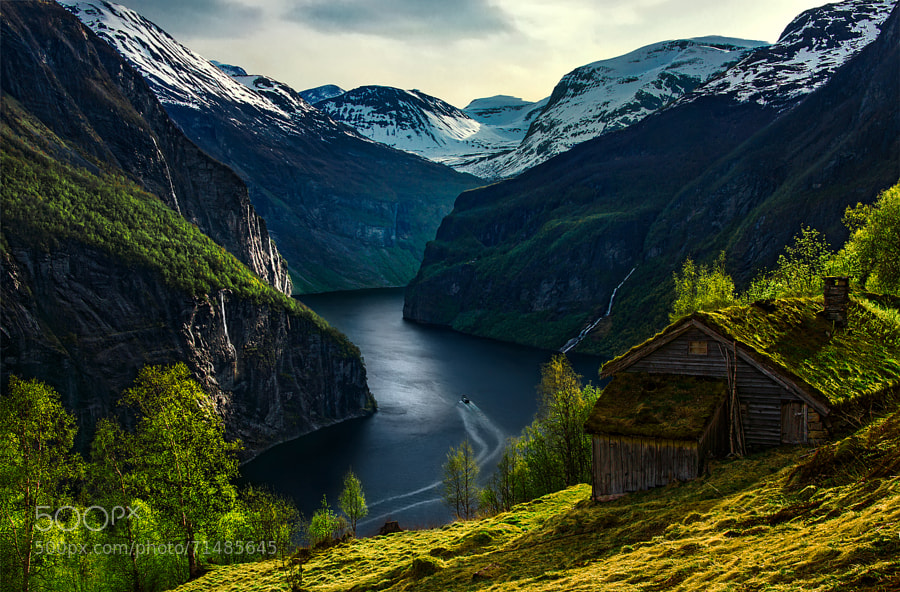 Photograph The Green Harbor by Max Rive on 500px