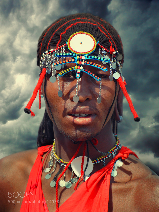 Photograph Warrior with a big heart - Color by Mathilde Guillemot on 500px