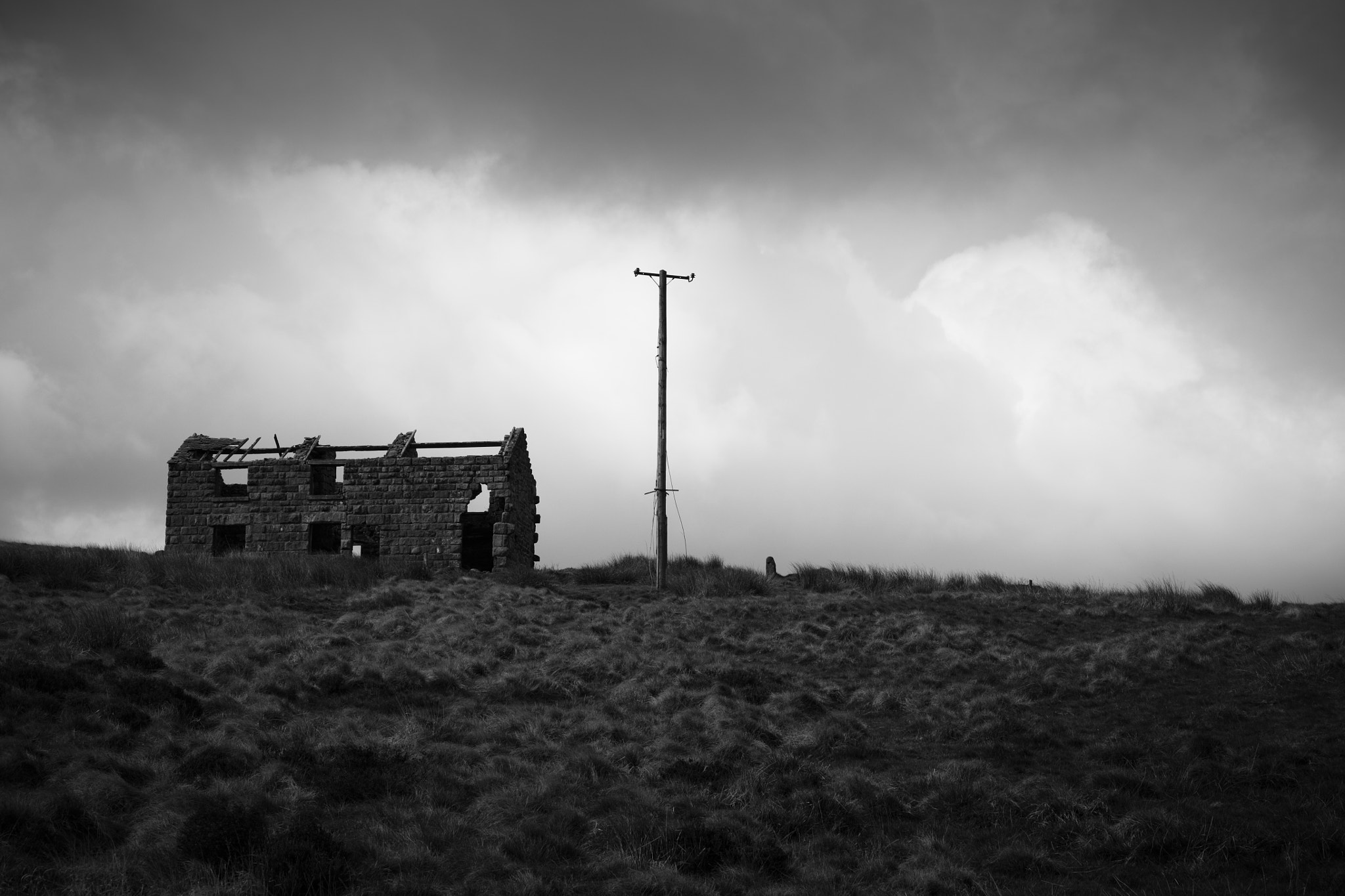 Photograph Desolate Farmhouse by Andy Stafford on 500px