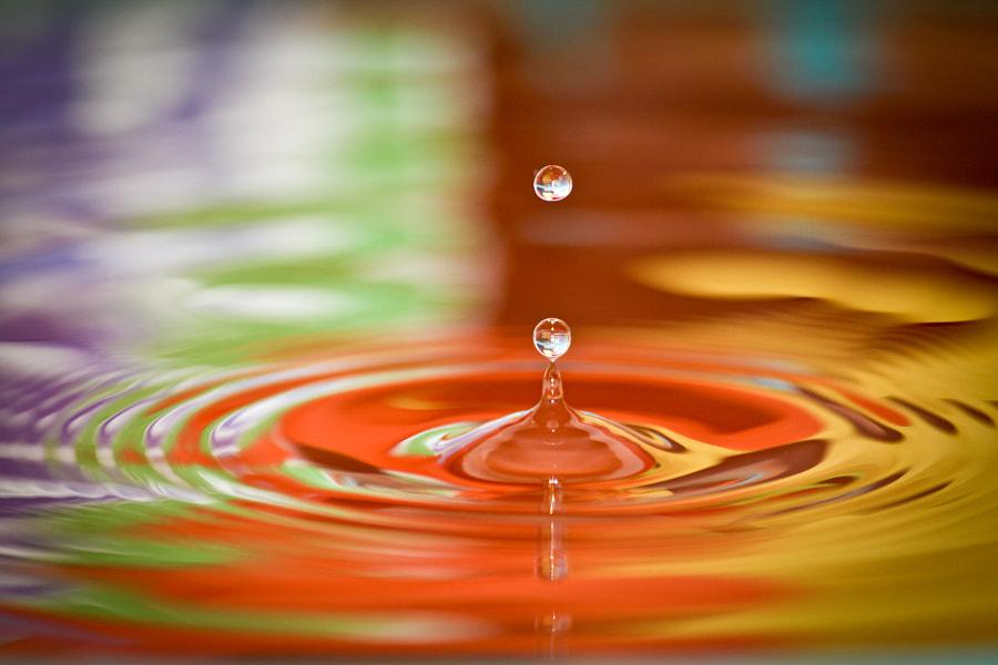 Water Drop Bouncing by Raja Bandi on 500px.com