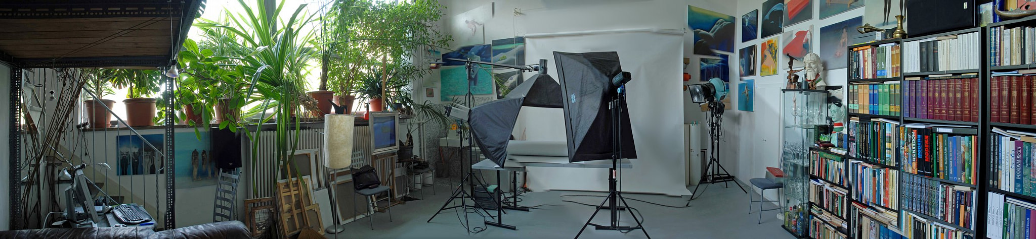 Photograph My studio by Tibor Mester on 500px