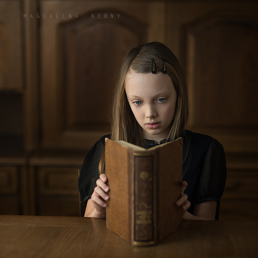 Photograph The Book Thief by Magdalena Berny on 500px