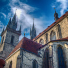 Постер, плакат: Tyn church in Stare Mesto