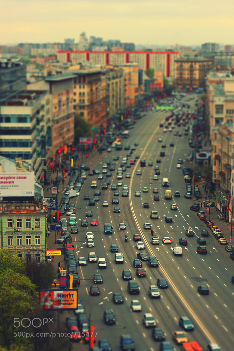 Photograph Moscow road by Nickolay Burma on 500px