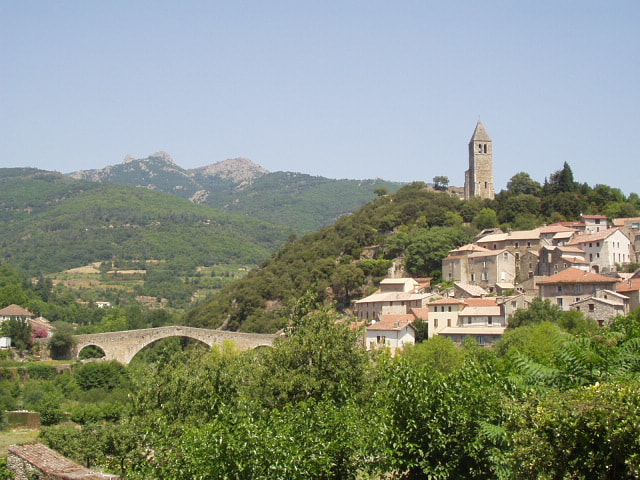 Photograph Village of Olargues, Languedoc, France by Chris Baldock on 500px