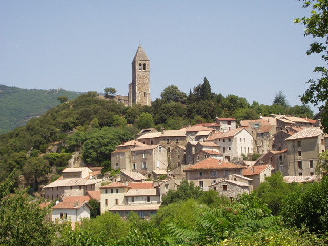 Photograph Village of Olargues, Languedoc, France 2 by Chris Baldock on 500px