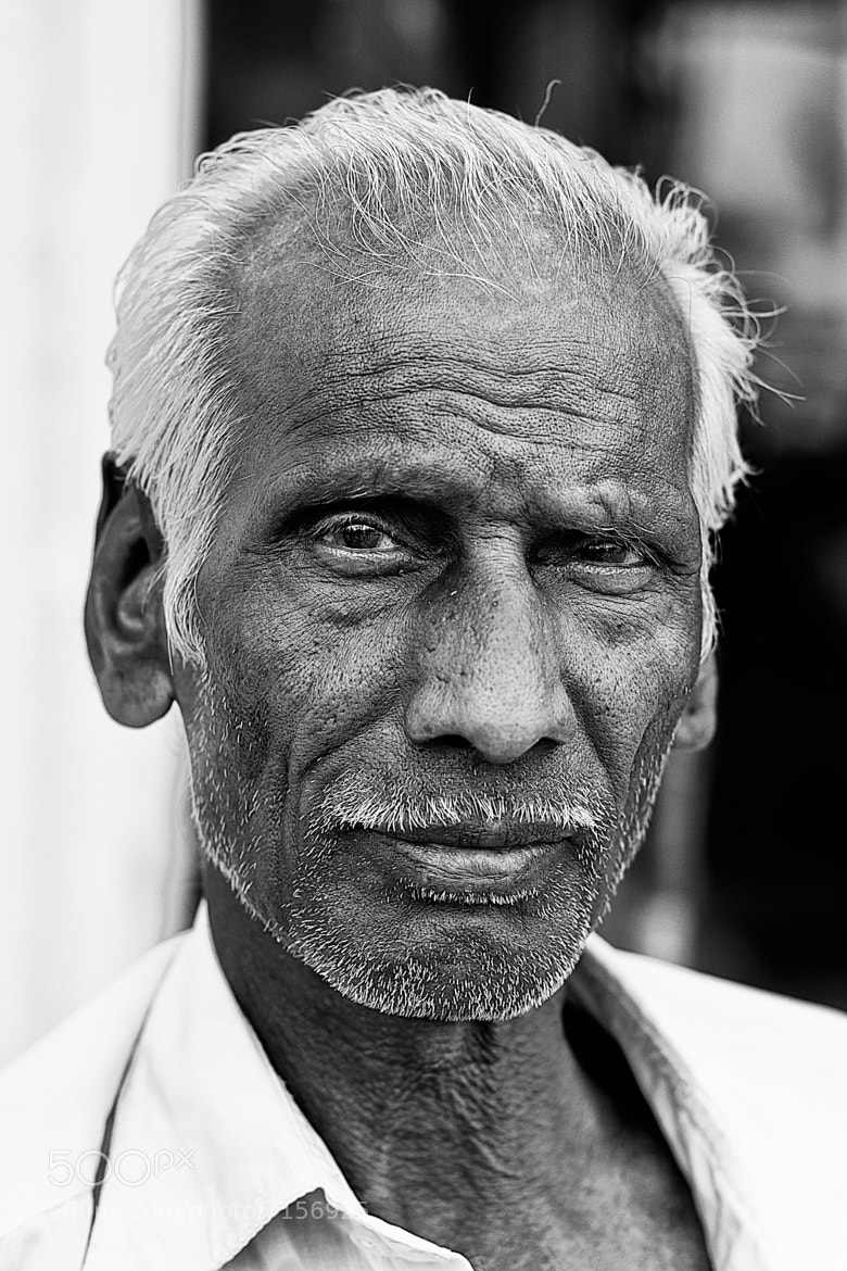 Photograph Man of Chennai  by Tyler Johnson on 500px