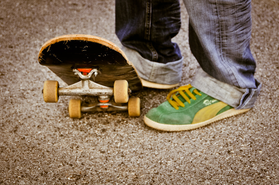 Photograph Skate by vito montenegro on 500px