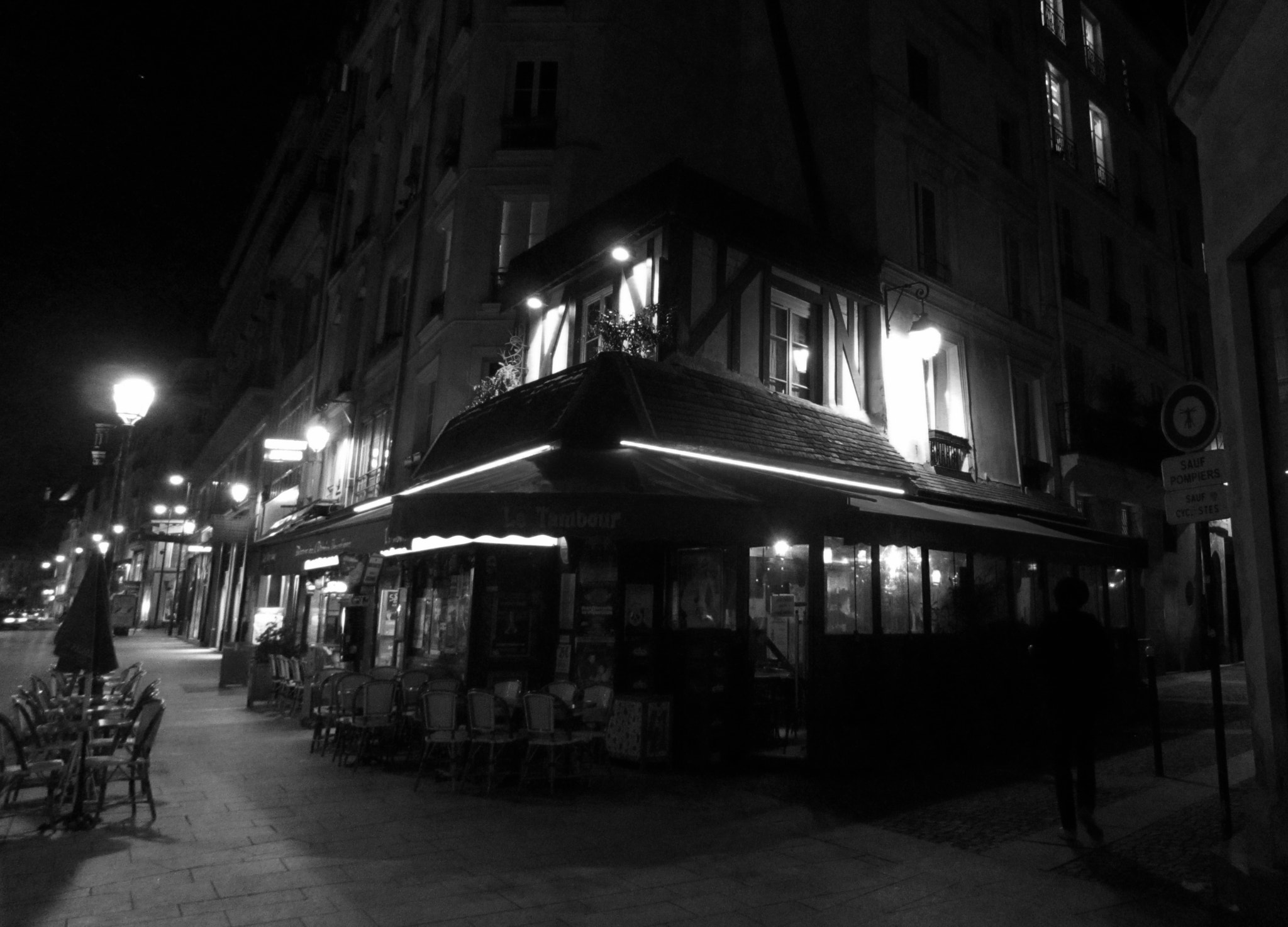 Photograph late night in paris by Kristin Segbefia on 500px