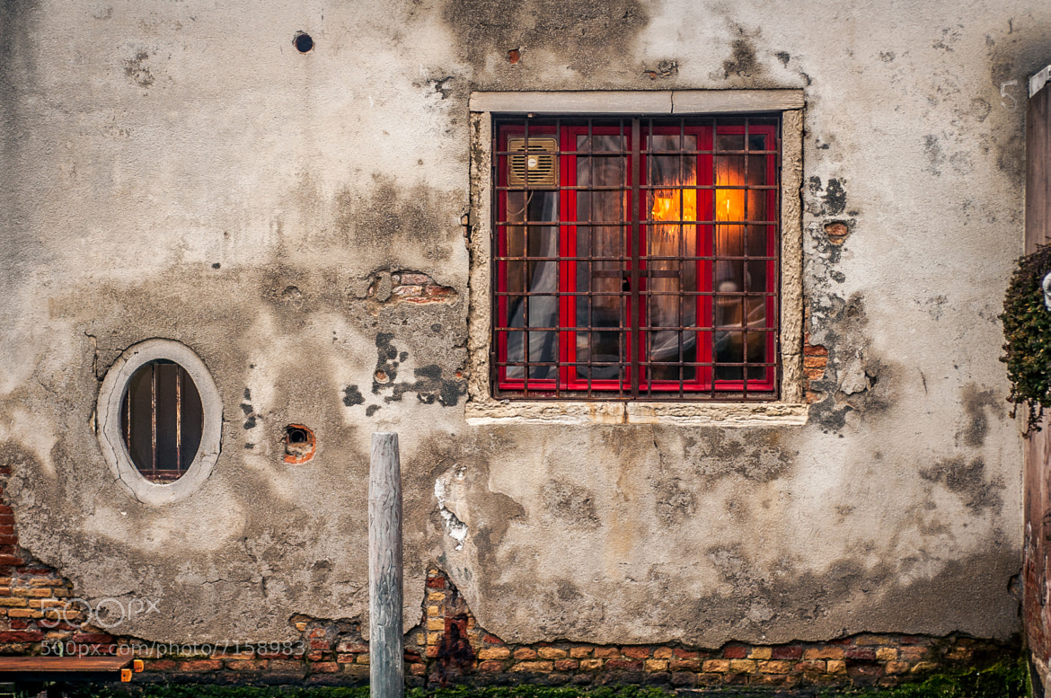 Photograph Venice Red Window by Damion Bridson on 500px