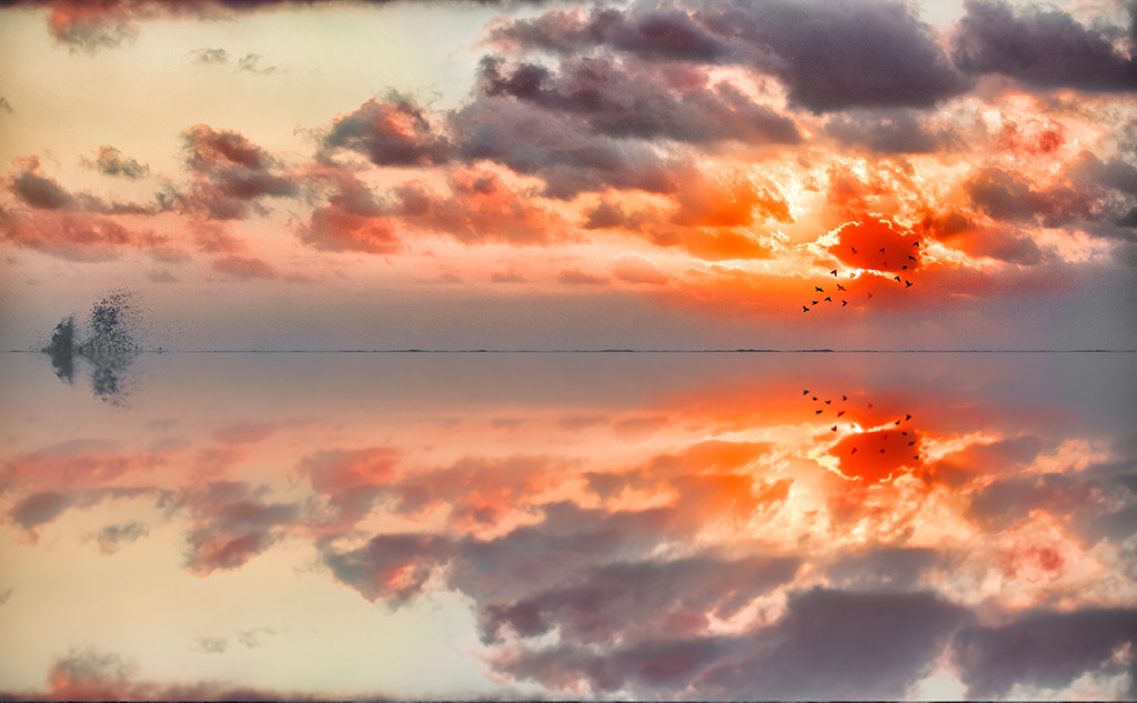 Photograph colored reflection by Marco Carmassi on 500px