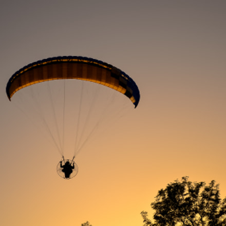 Motor parachute