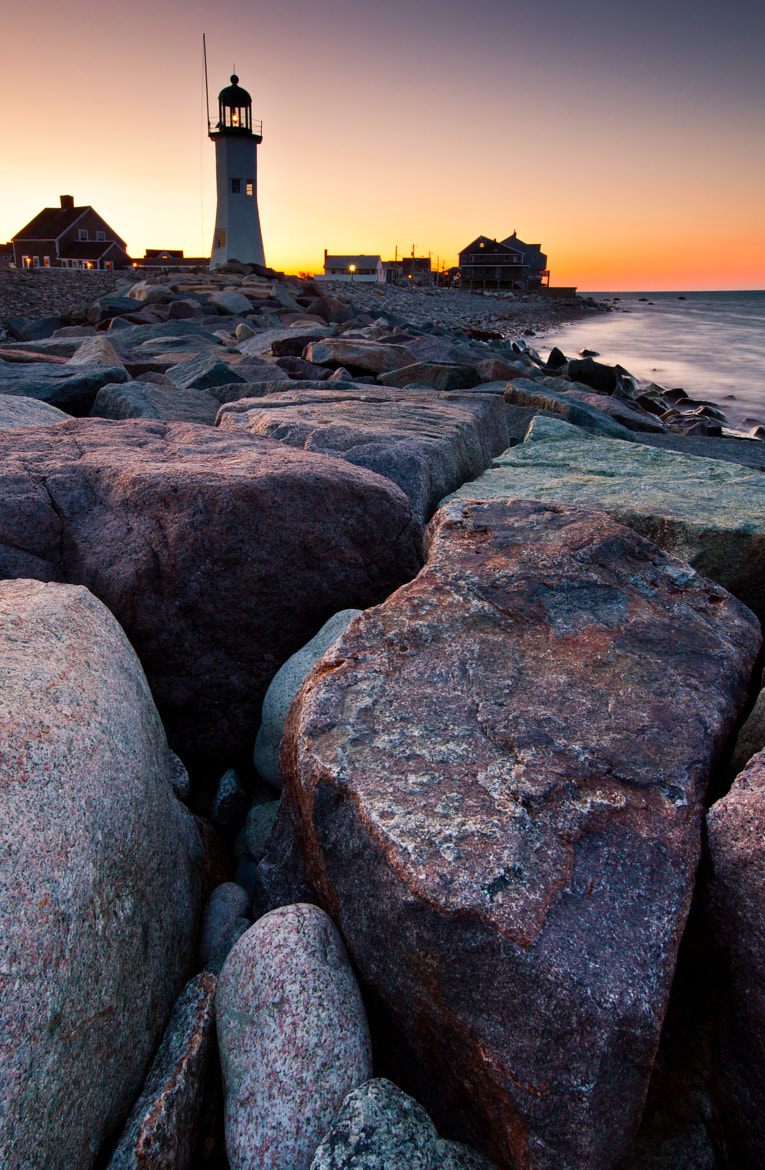 Photograph Old Scituate Lighthouse at sunset by Rich Williams on 500px