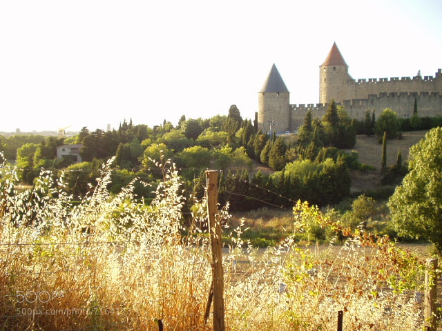 Photograph Shot of part of fortifications of Carcassonne, Aude, Languedoc, France by Chris Baldock on 500px