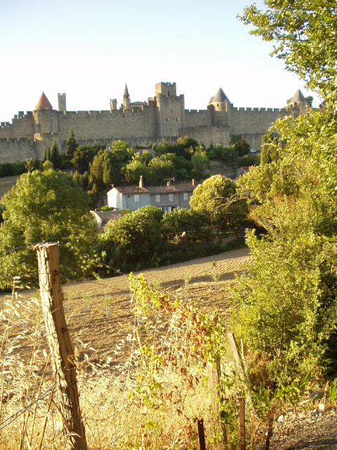 Photograph Shot of part of fortifications of Carcassonne, Aude, Languedoc, France 2 by Chris Baldock on 500px
