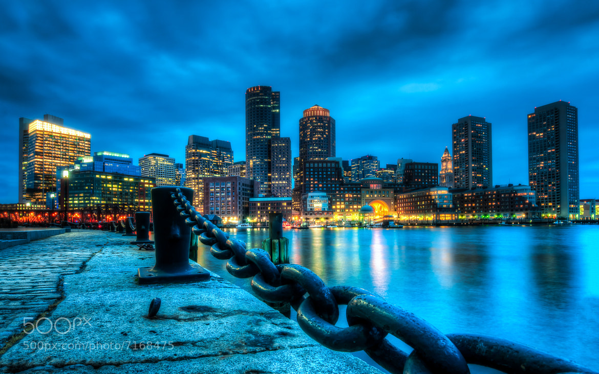 Photograph Light up Boston by Peicong Liu on 500px