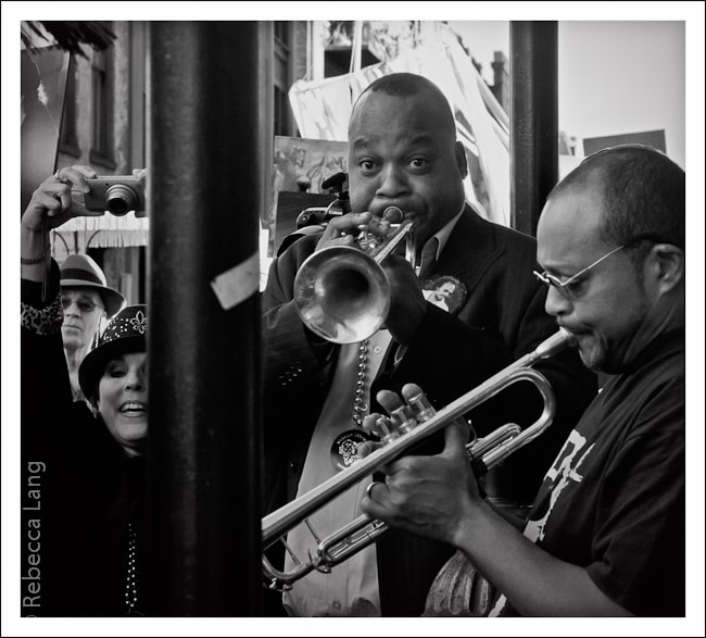 Photograph Jazz Funeral - Herman Leonard by Max Finger on 500px