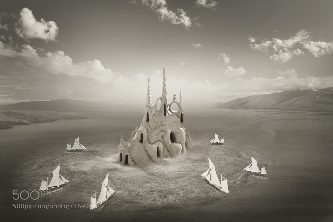 Photograph our sand castle by Rio  Arianto on 500px
