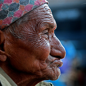 The face speaks by Mohan Duwal (mkduwal)) on 500px.com