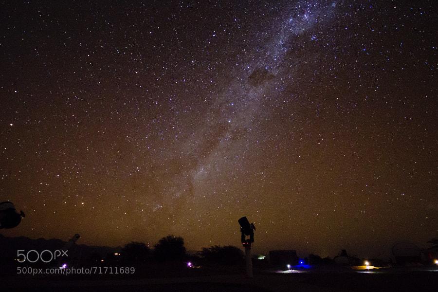 Beautiful Chilean sky - San Pedro de Atacama.