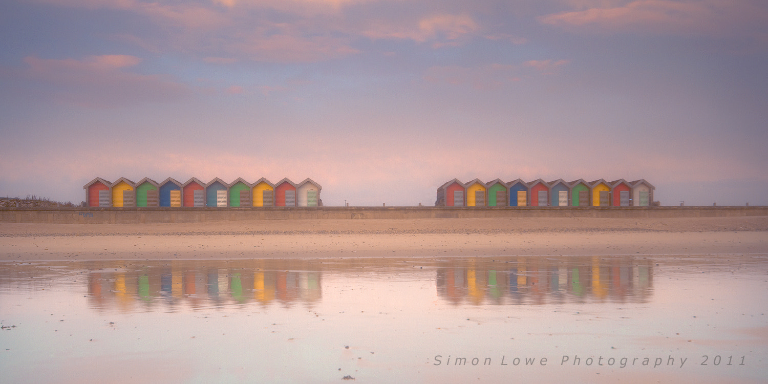 Photograph Beach Huts by Simon Lowe on 500px
