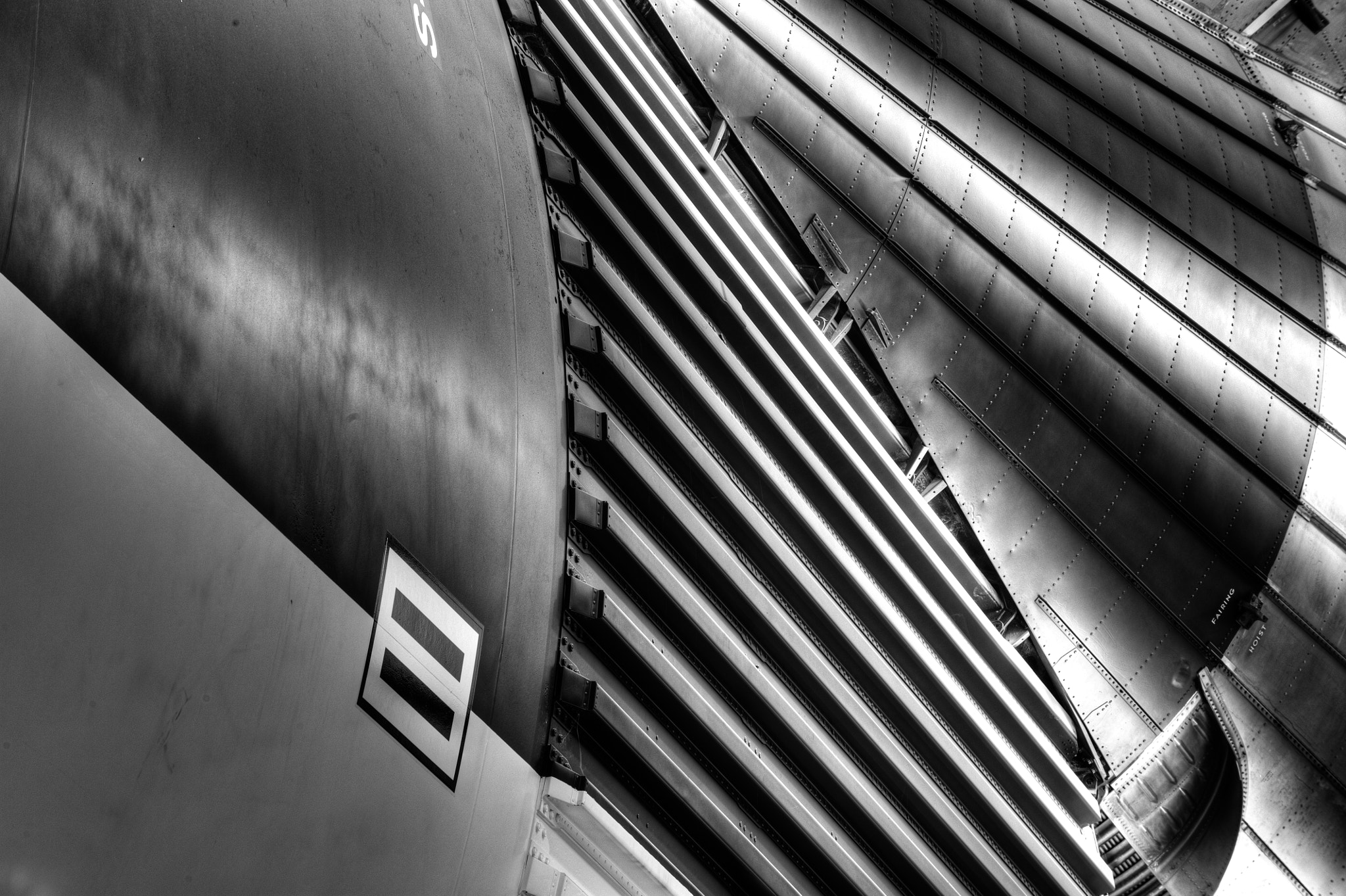 Photograph Saturn V Abstract, Houston by Dave Wilson on 500px