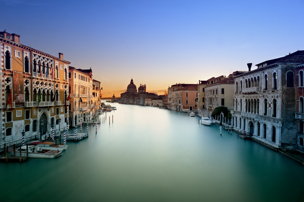 Photograph Sunrise on Grand Canal by Laurent Coppee on 500px
