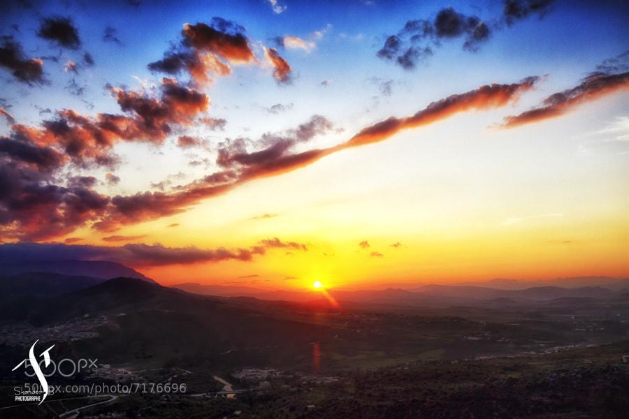 Photograph Coucher de soleil sur Constantine by Skander Benmohammed on 500px