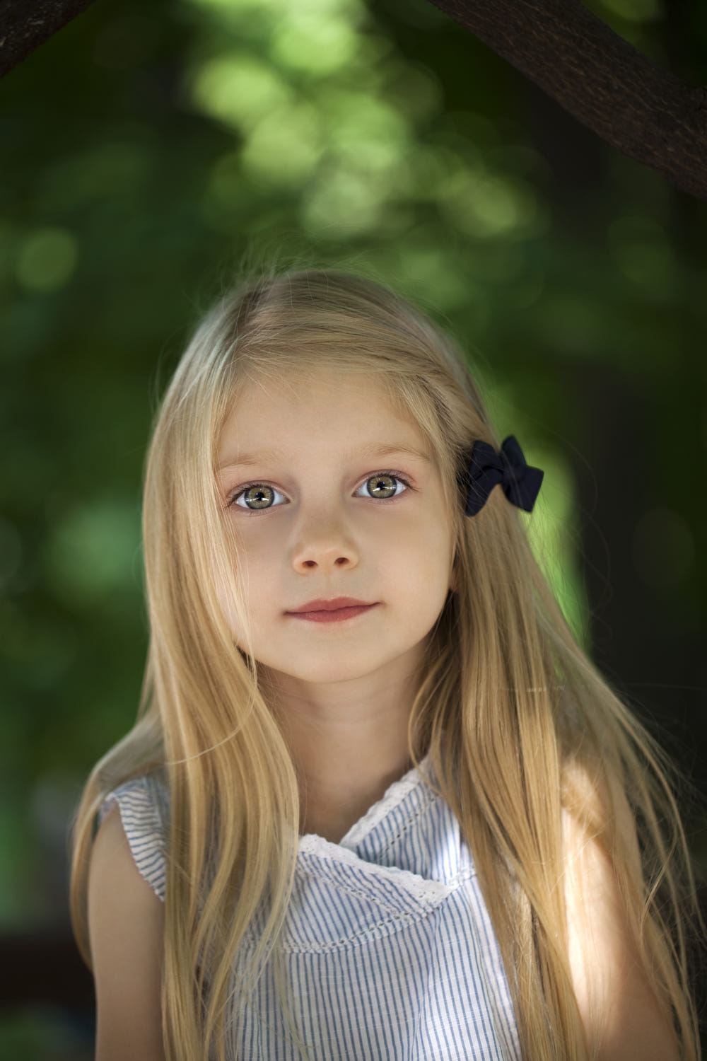 blonde little girl Portrait of a beautiful blonde little girl three years by Фотограф Андрей Аркуша on 500px