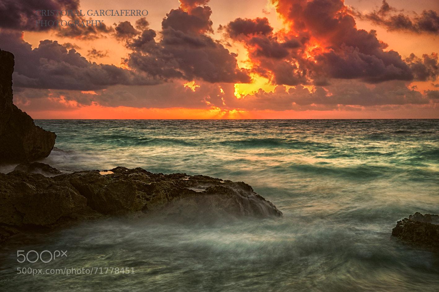 Photograph Sunrise at Tulum Beach by Cristobal Garciaferro Rubio on 500px
