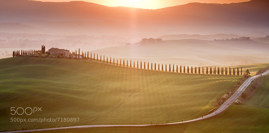 Photograph Morning in Val d'Orcia by Marcin Sobas on 500px