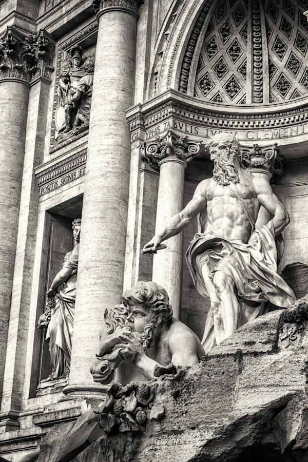 Photograph Trevi Fountain Up Close by David Edenfield on 500px