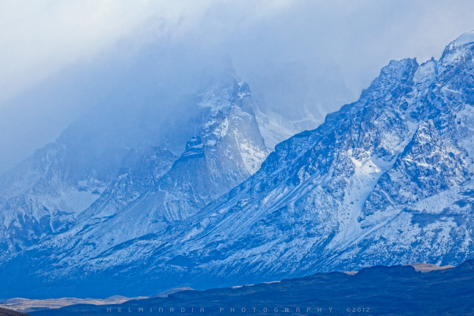 Photograph Storm over the Mountain by Helminadia Ranford on 500px