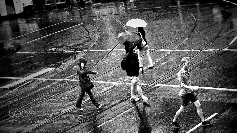 Photograph { walk in the rain } by Thai Hoa Pham on 500px